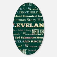 Cleaveland poster Decal