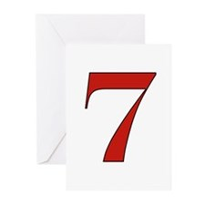 Lucky 7 Greeting Cards (Pk of 10)