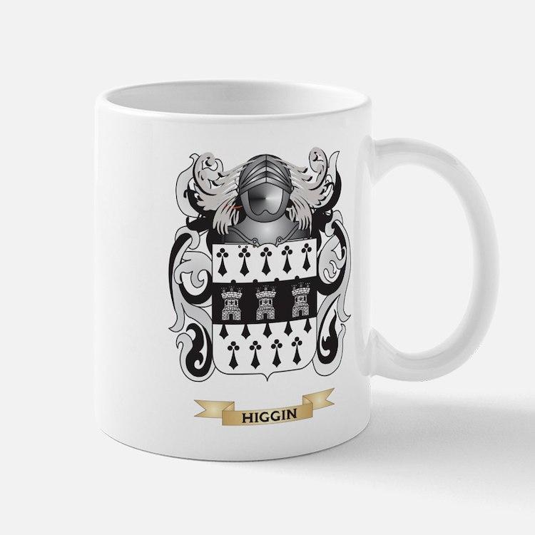 Higgin Coat of Arms (Family Crest) Mug