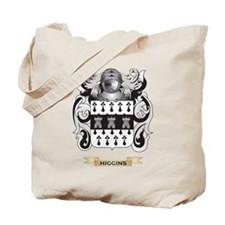 Higgins Coat of Arms (Family Crest) Tote Bag