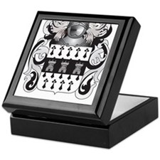 Higgins Coat of Arms (Family Crest) Keepsake Box