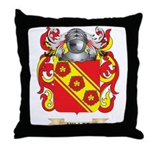 Hiller Coat of Arms (Family Crest) Throw Pillow