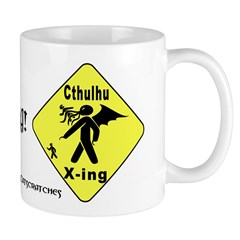 Cthulhu Crossing! Mug