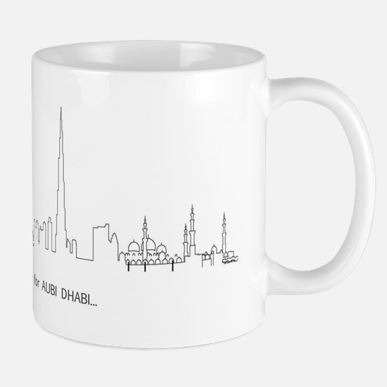 Left for Abu Dhabi Mug