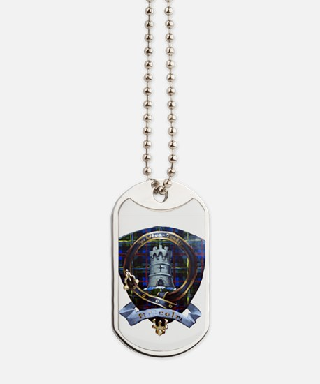 Clan Malcolm Crest Dog Tags