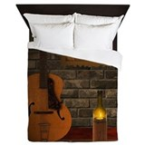 Guitar Queen Duvet Covers