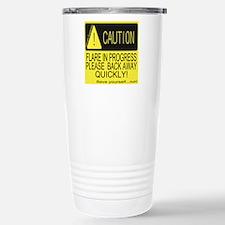 Flare in progress Travel Mug