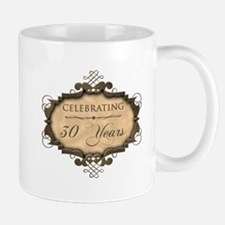 30th Wedding Aniversary (Rustic) Mug
