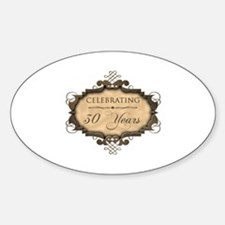 30th Wedding Aniversary (Rustic) Decal