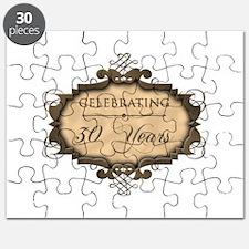 30th Wedding Aniversary (Rustic) Puzzle