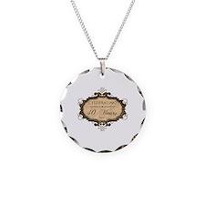 40th Wedding Aniversary (Rustic) Necklace