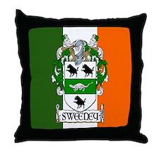 Sweeney Arms Flag Throw Pillow