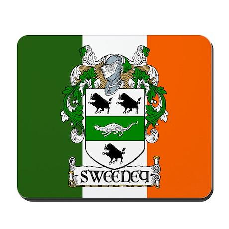 Sweeney Arms Flag Mousepad