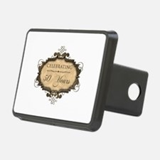 50th Wedding Aniversary (Rustic) Hitch Cover