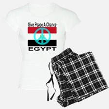 Egypt Give Peace A Chance Pajamas