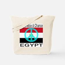 Egypt Give Peace A Chance Tote Bag