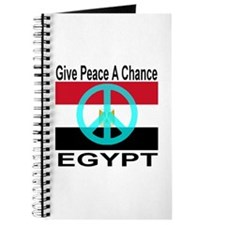 Egypt Give Peace A Chance Journal