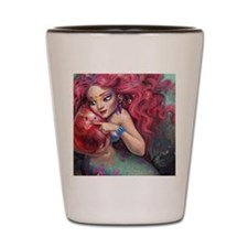 A Mermaid Mother's Love Shot Glass