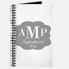Modern Wedding Monogram Journal