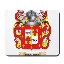 Hinojosa Coat of Arms (Family Crest) Mousepad