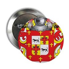 """Hinojosa Coat of Arms (Family Crest) 2.25"""" Button"""