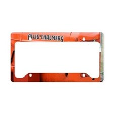 allis chalmers License Plate Holder