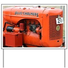 allis chalmers Yard Sign
