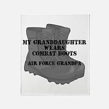 AF Grandpa Granddaughter CB Throw Blanket