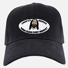 Sucker Born Again Hat (Black Cap)
