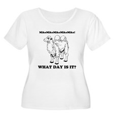 What day is it? Hump Day! Plus Size T-Shirt
