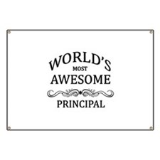 World's Most Awesome Principal Banner
