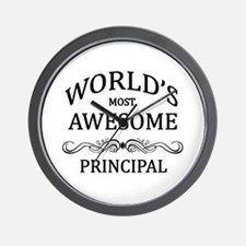 World's Most Awesome Principal Wall Clock