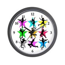 SUPER STAR SKATER Wall Clock