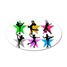 SUPER STAR SKATER Wall Decal
