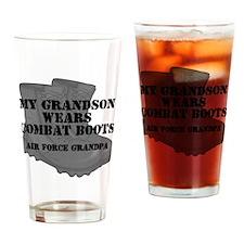AF Grandpa Grandson CB Drinking Glass