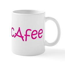 Mrs McAfee Mug