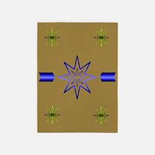 Awakening Star Khaki 5'x7'Area Rug