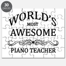 World's Most Awesome Piano Teacher Puzzle