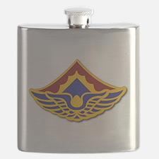 Army - 123rd Aviation Battalion Flask