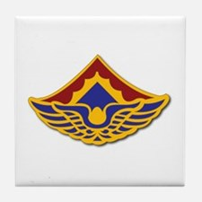 Army - 123rd Aviation Battalion Tile Coaster