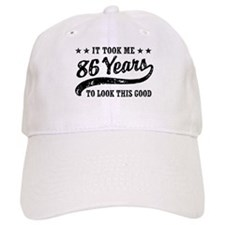 Funny 86th Birthday Baseball Cap