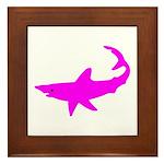 Black Shark Framed Tile