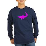 Black Shark Long Sleeve Dark T-Shirt