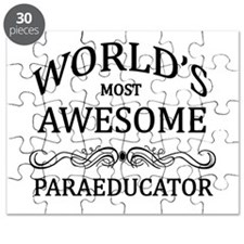World's Most Awesome Paraeducator Puzzle