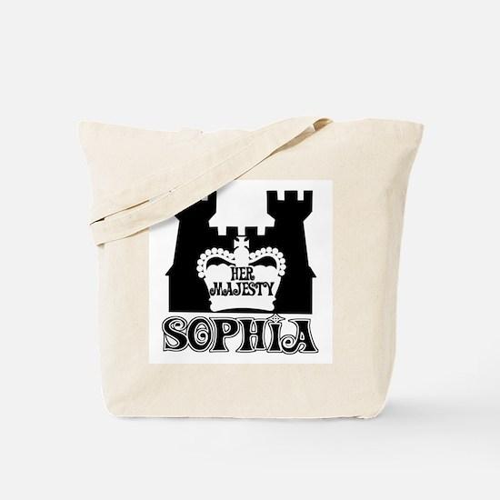 Her Majesty Sophia Tote Bag