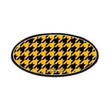 Houndstooth Yellow Patches