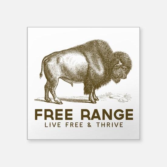 Free Range Sticker