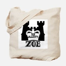 Her Majesty Zoe Tote Bag