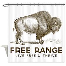 Free Range Shower Curtain