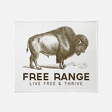 Free Range Throw Blanket